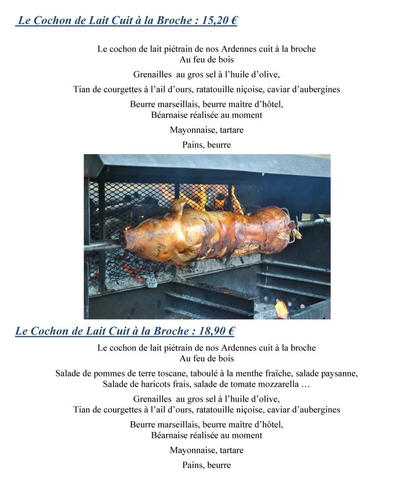 Traiteur Namur Cochon de lait Porchetta